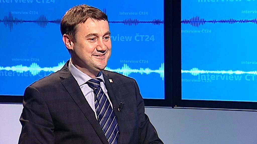 Martin Půta v Interview ČT24