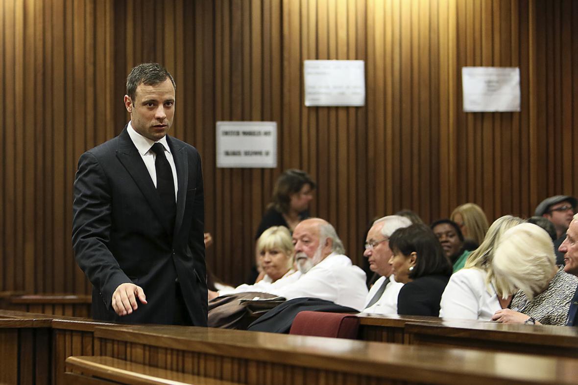 Atlet Oscar Pistorius u soudu