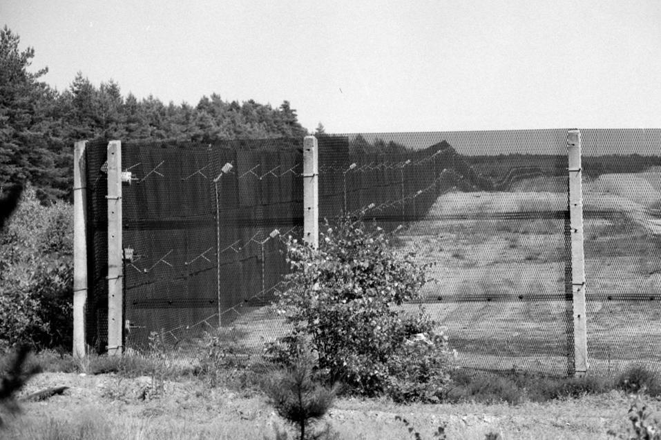 Vnitroněmecká hranice, Thielitz (minulost)