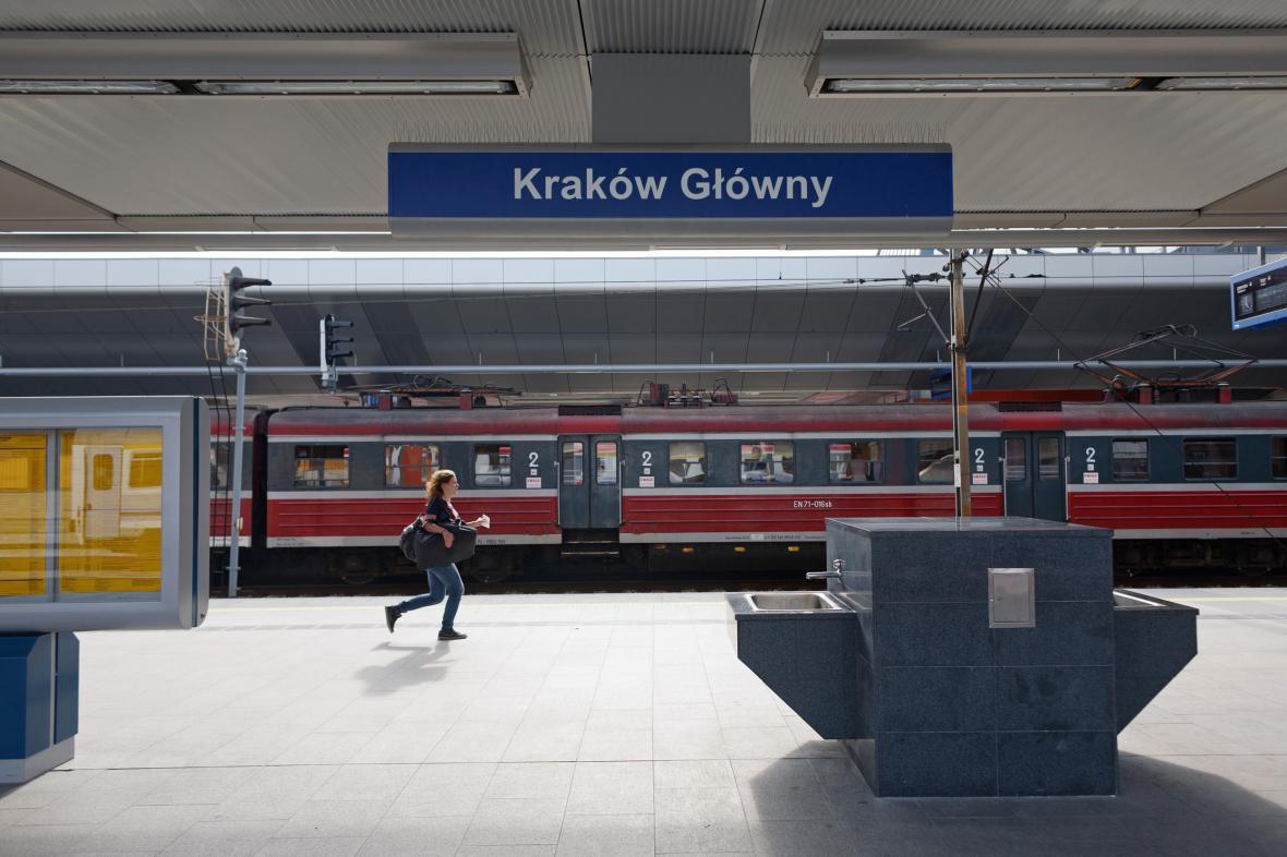 Vlakové nádraží v Krakově