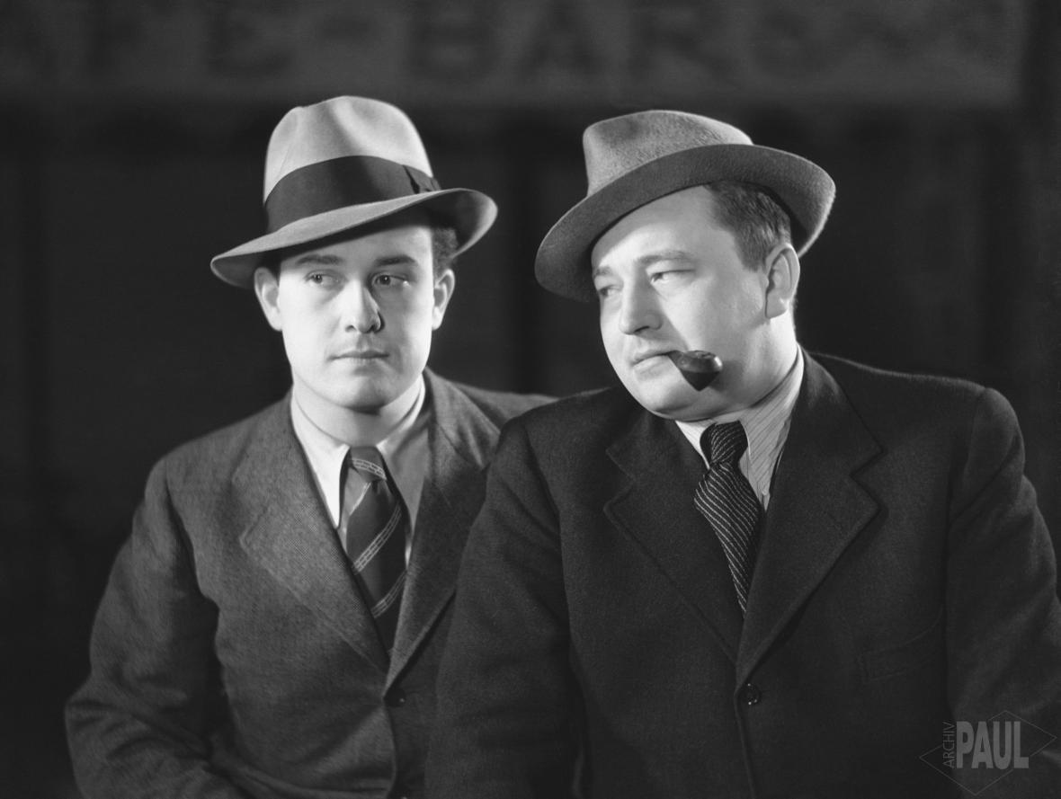 Jiří Voskovec a Jan Werich (30. léta)