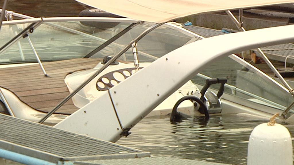 Potopený člun