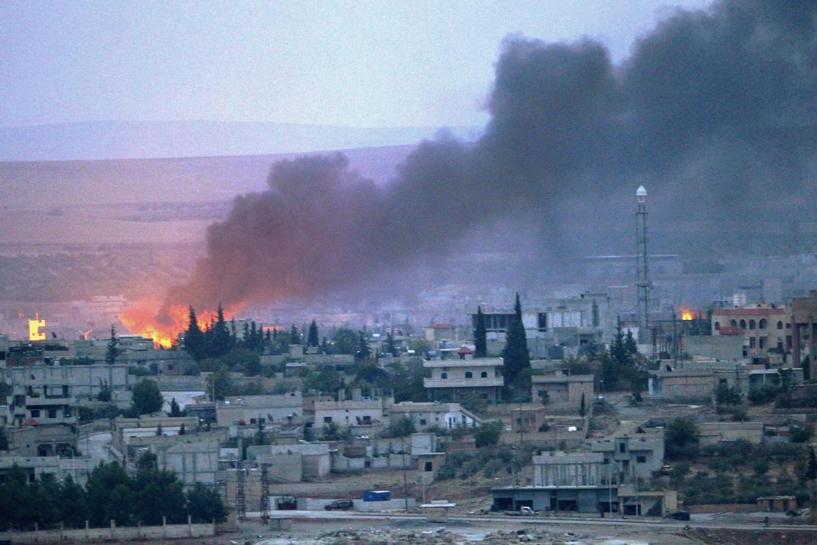 Boj o Kobani