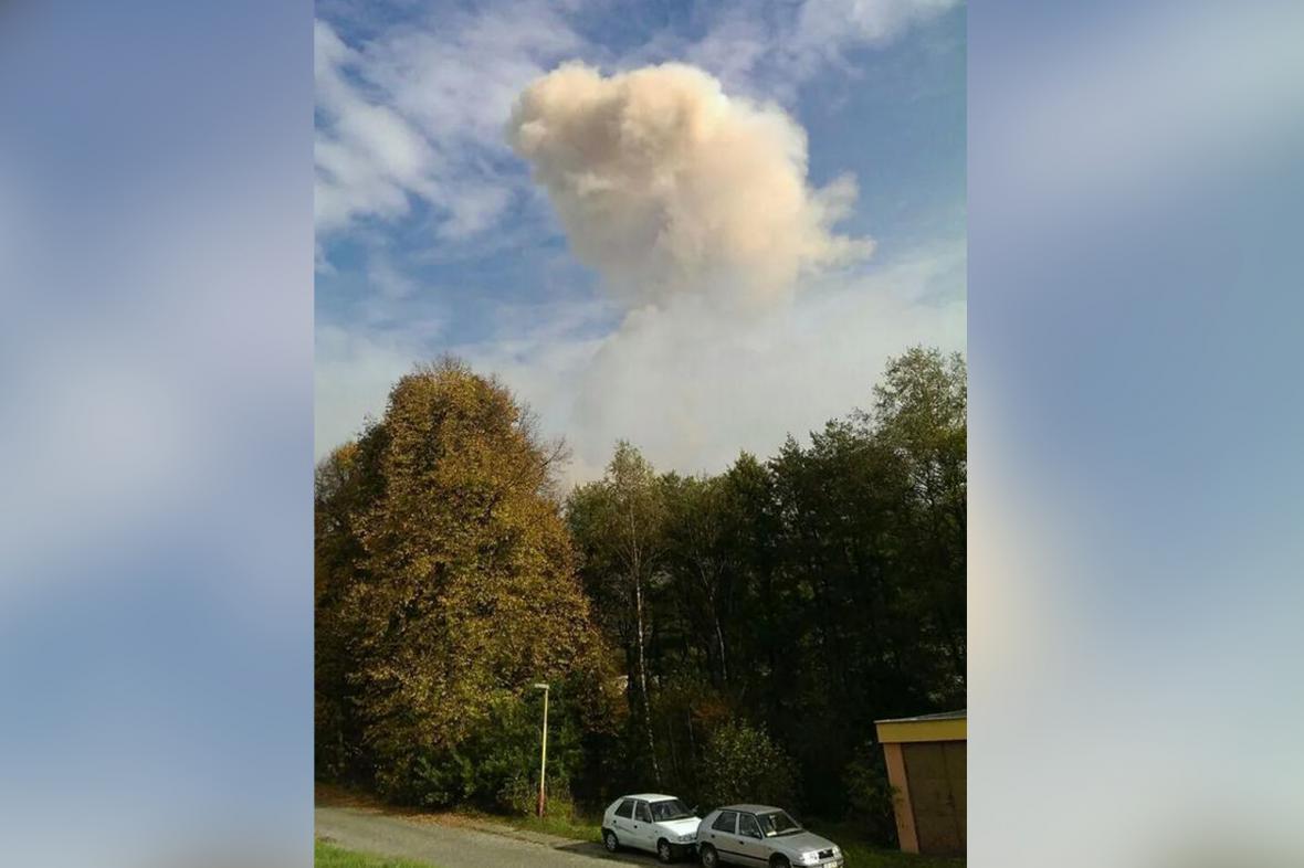 Výbuch muničního skladu