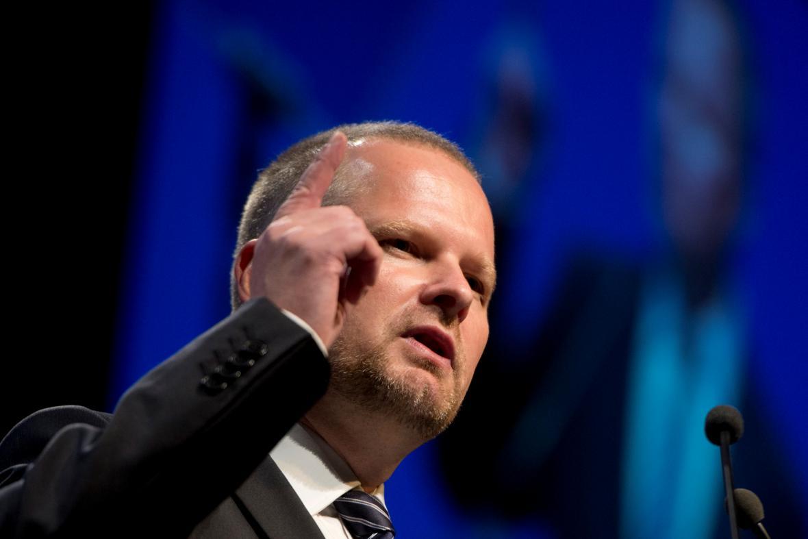 Petr Fiala na mimořádném kongresu ODS
