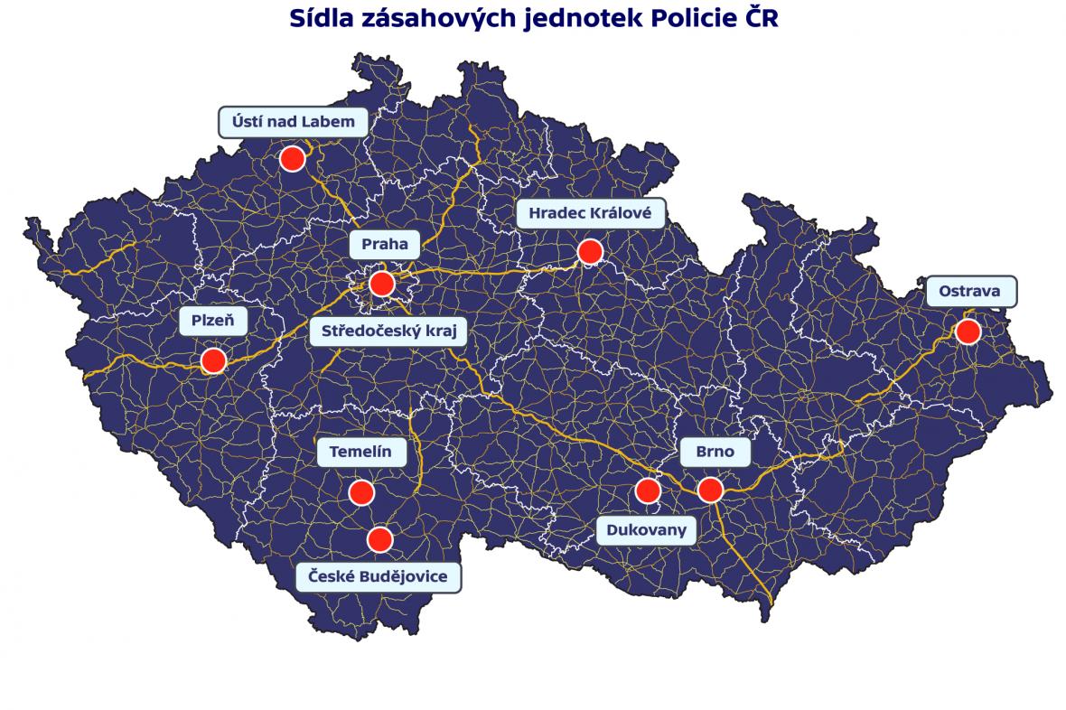 Zásahové jednotky Policie ČR