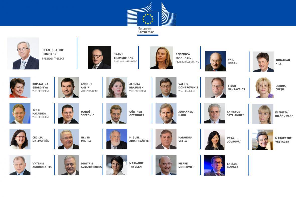 Členové Evropské komise