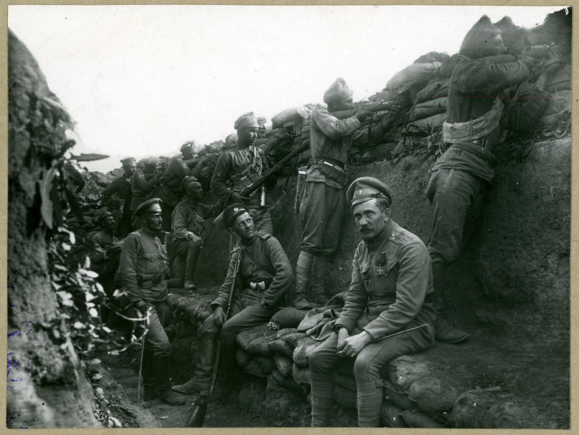 Češi pod prapory velké války