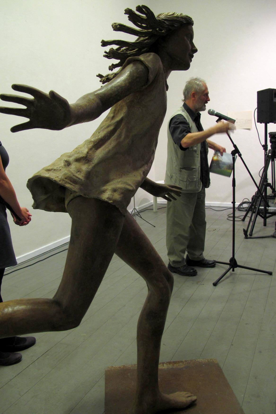 Utíkající dívka Kurta Gebauera
