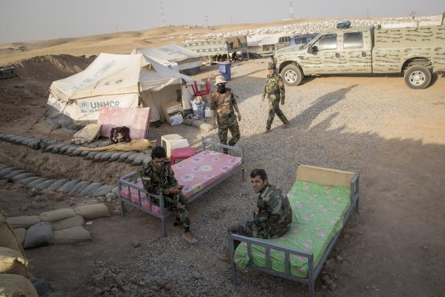 Pešmergové - kurdští vojáci