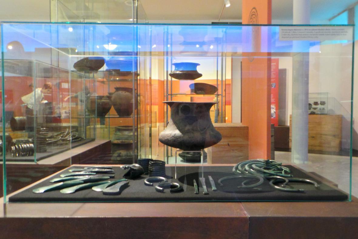 Kovový depoz objevený v roce 2012 u Rešic