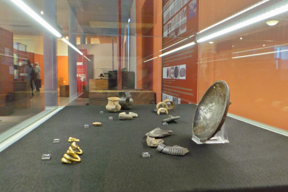 Výstavy Mykény a střední Evropa
