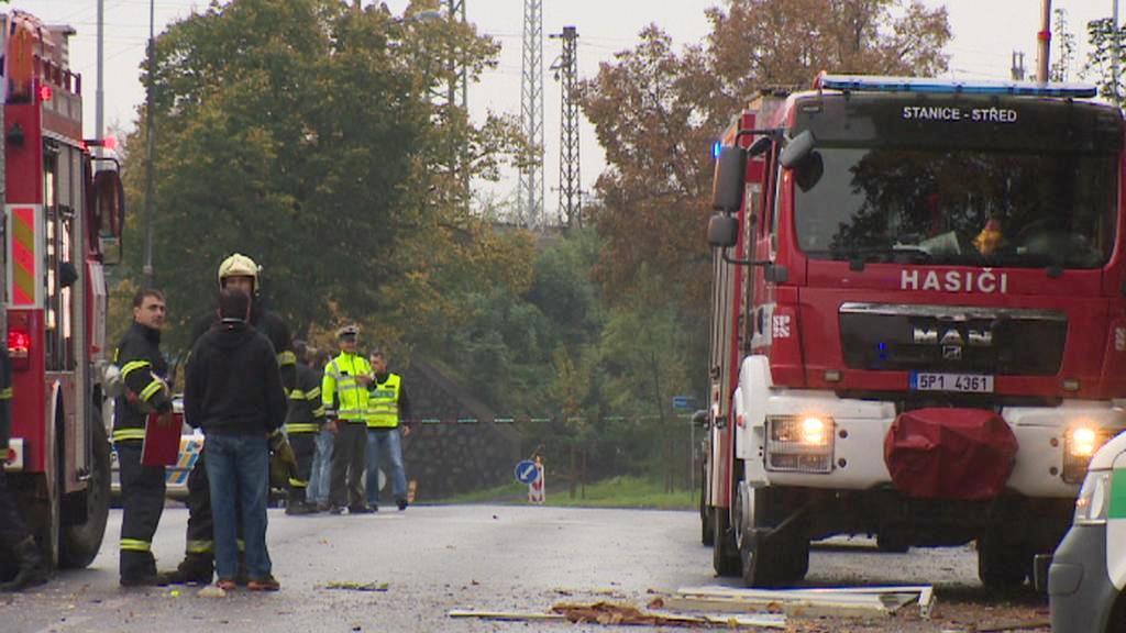 Výbuch plynu v plzeňské Jateční ulici