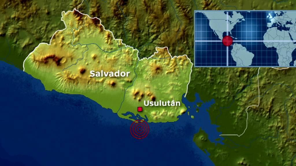 U pobřeží Salvadoru udeřilo zemětřesení