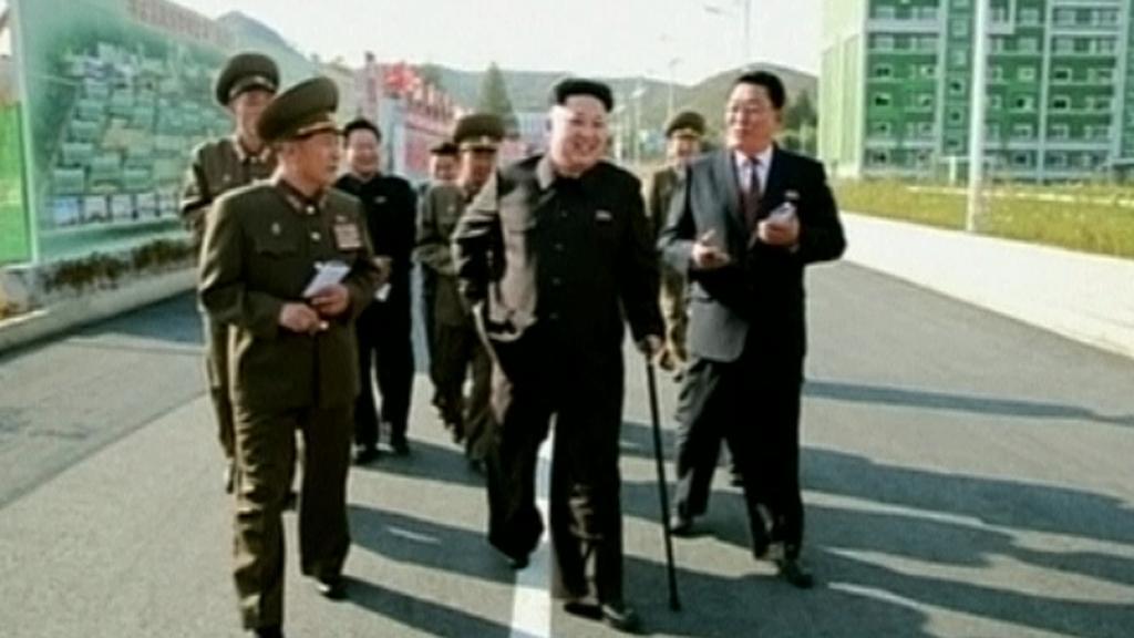 Vůdce KLDR se po několika týdnech objevil v médiích