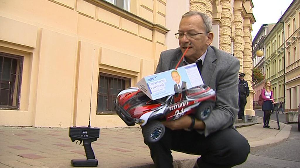 Jaroslav Kubera přistupuje ke kampaním po svém