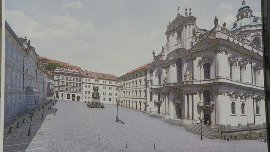 Malostranské náměstí - návrh nové podoby