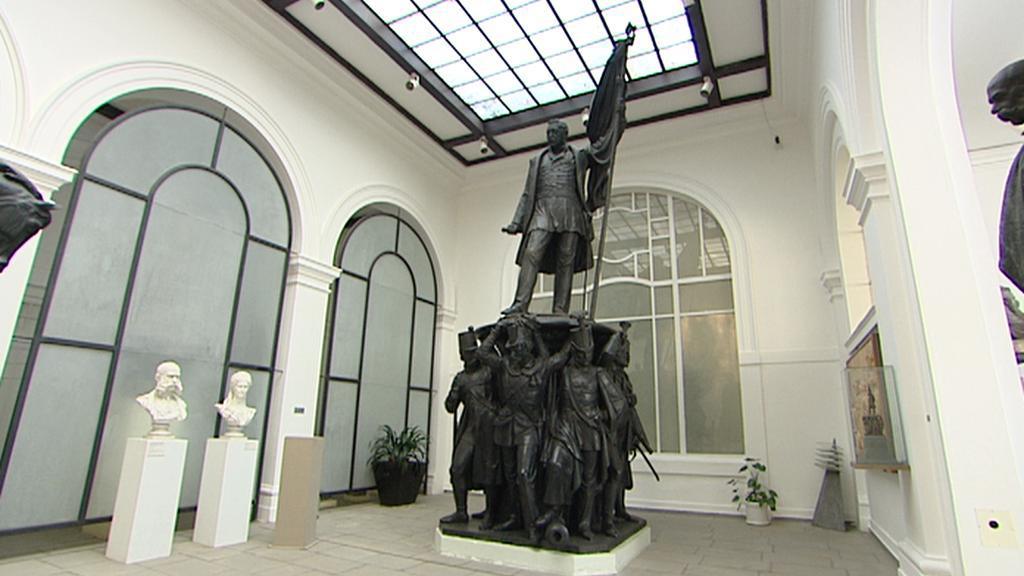 Pomník maršála Radeckého v lapidáriu