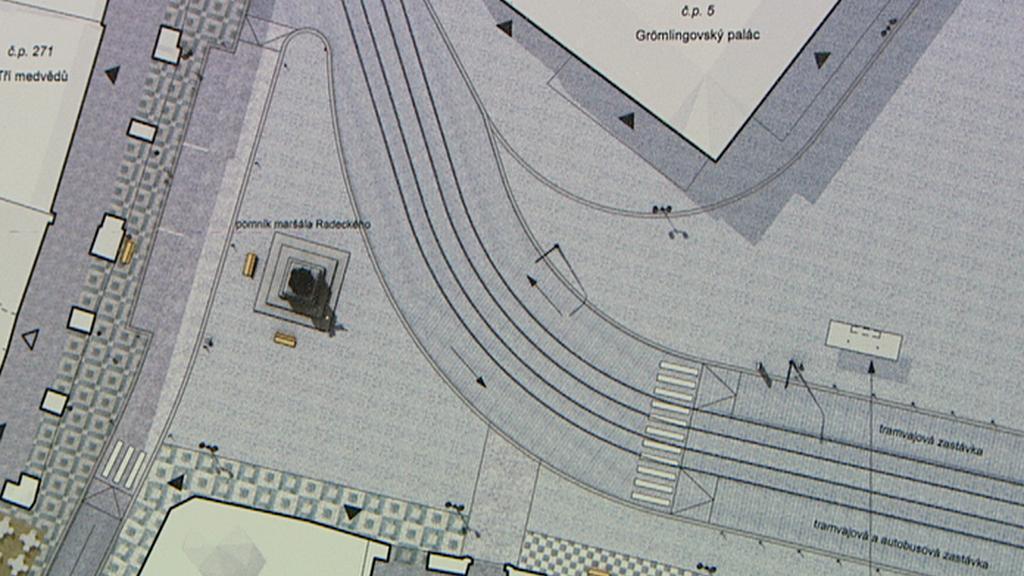 Vítězný návrh počítá s umístěním pomníku na náměstí