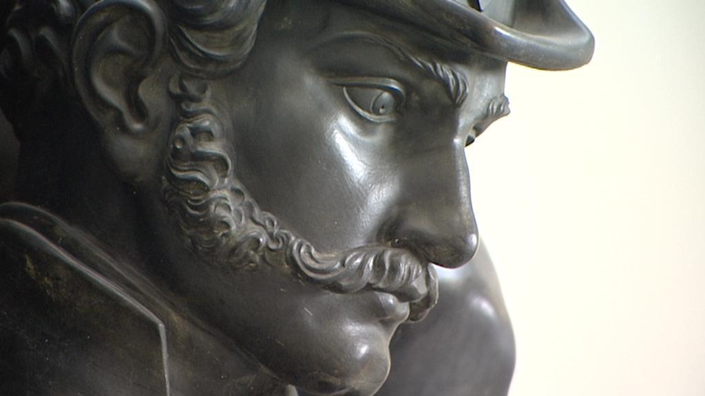 Detail z pomníku maršála Radeckého