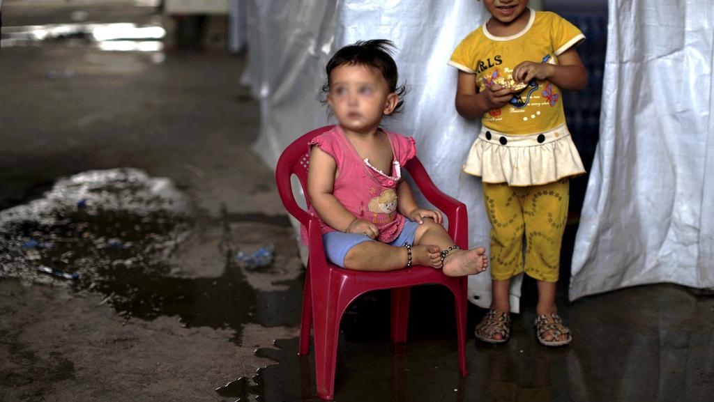 Tvrdá situace v uprchlických táborech dopadá hlavně na nejmenší