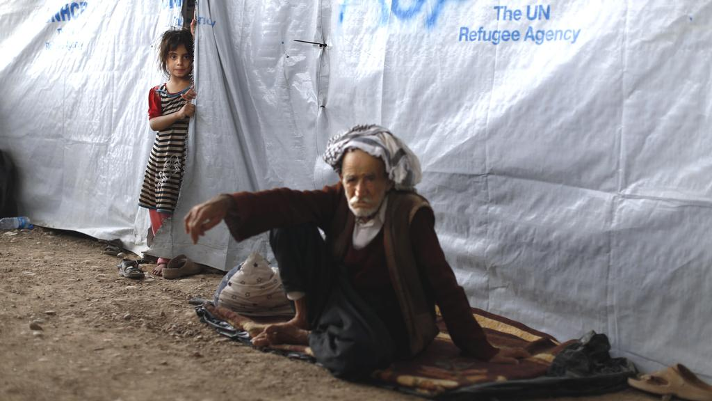 Situace v uprchlických táborech Kurdistánu