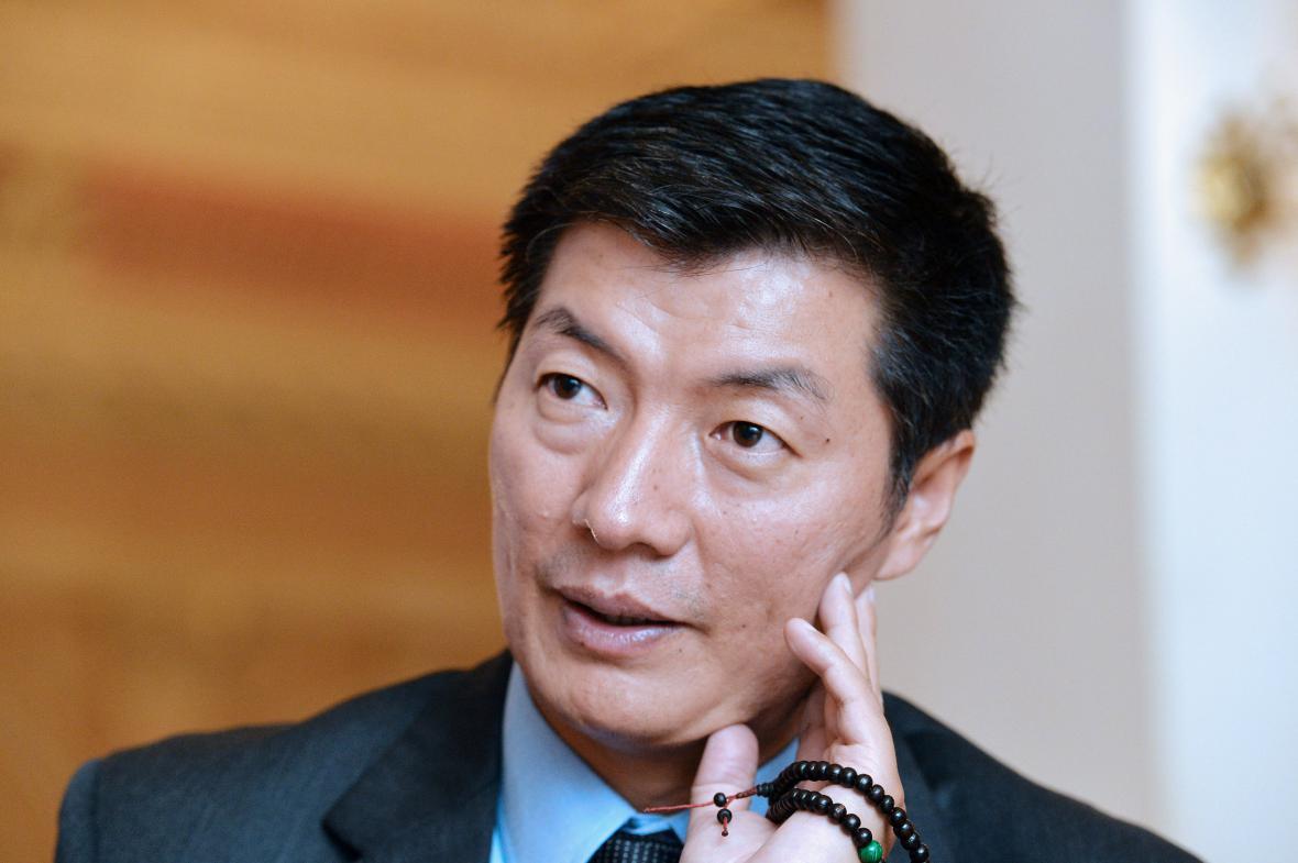 Tibetský exilový premiér Lozang Sanggjä