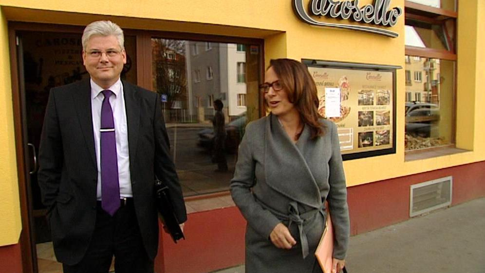 Miloslav Ludvík a Adriana Krnáčová