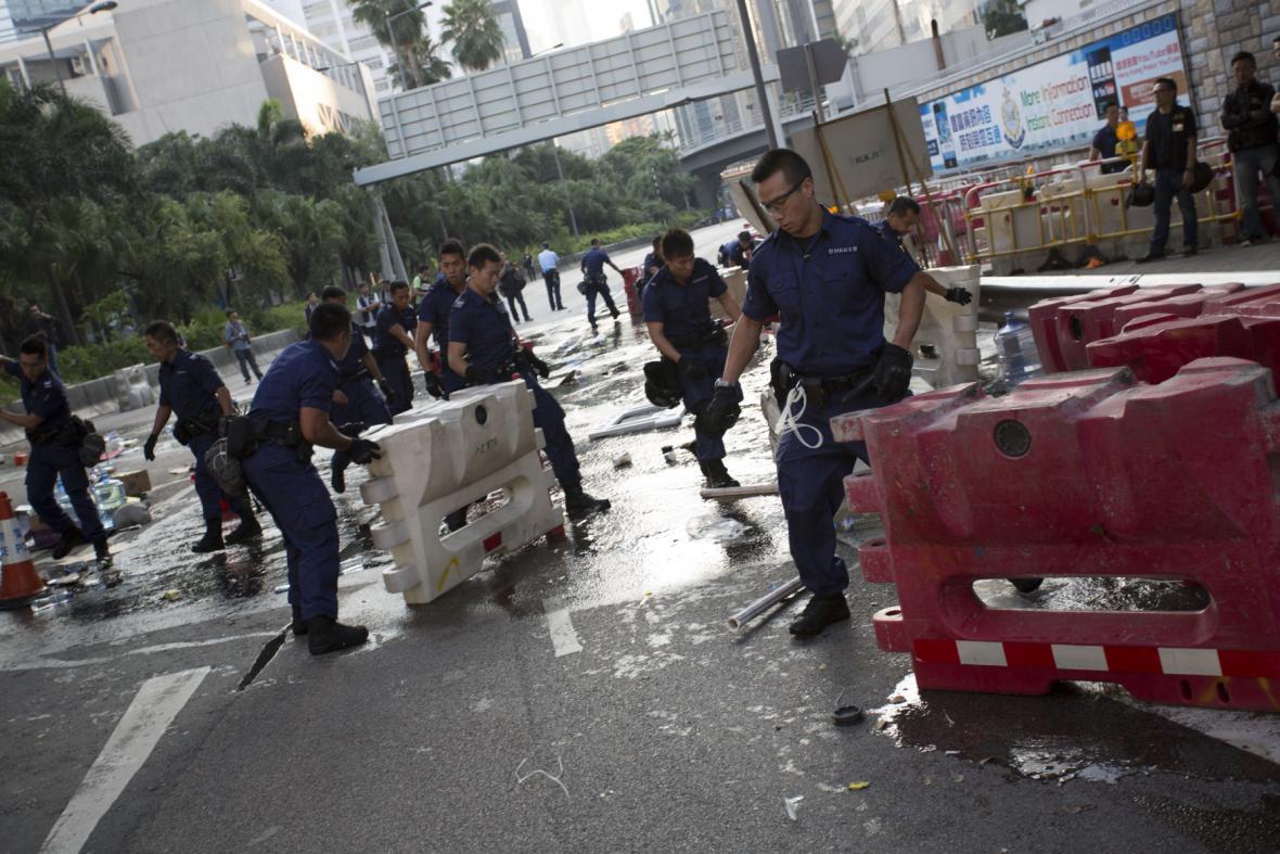 Protesty v Hongkongu