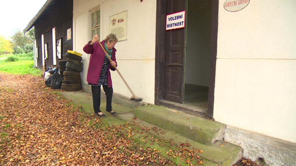 Přípravy na volby v obci Čilá