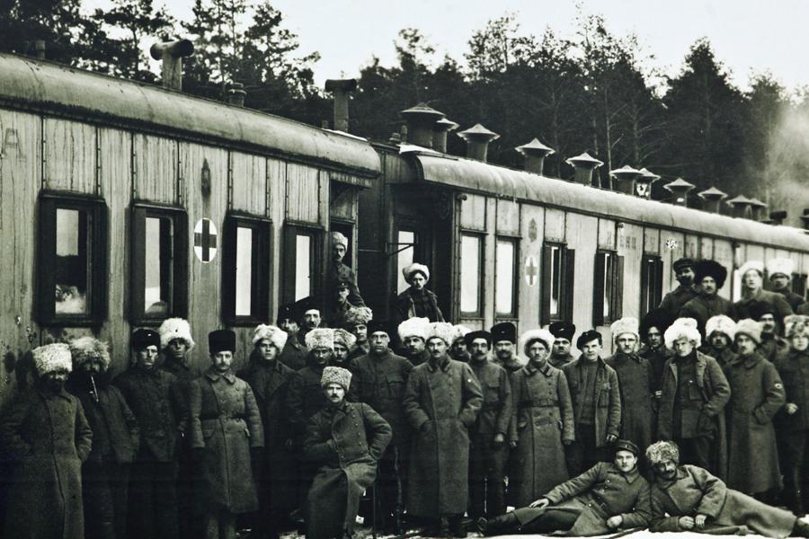Československé legie na Rusi