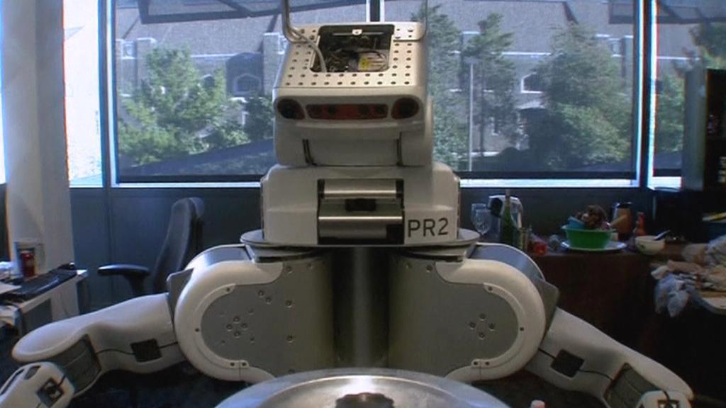 Robot Kodiak zvládá domácí práce