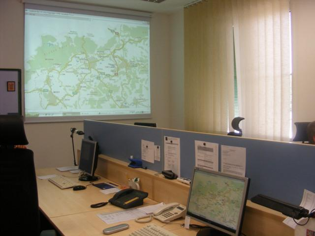Petrovice - prostory Společného centra policejní a celní spolupráce se SRN