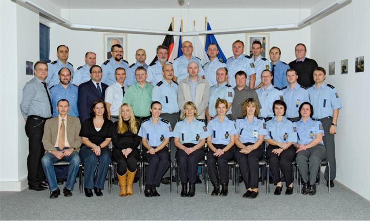 Policisté v Petrovicích