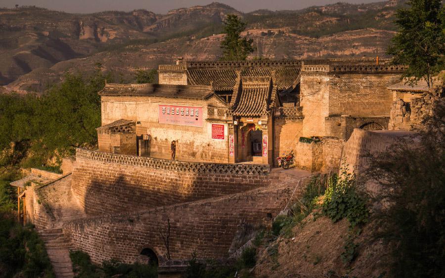Jeskynní obydlí v Číně