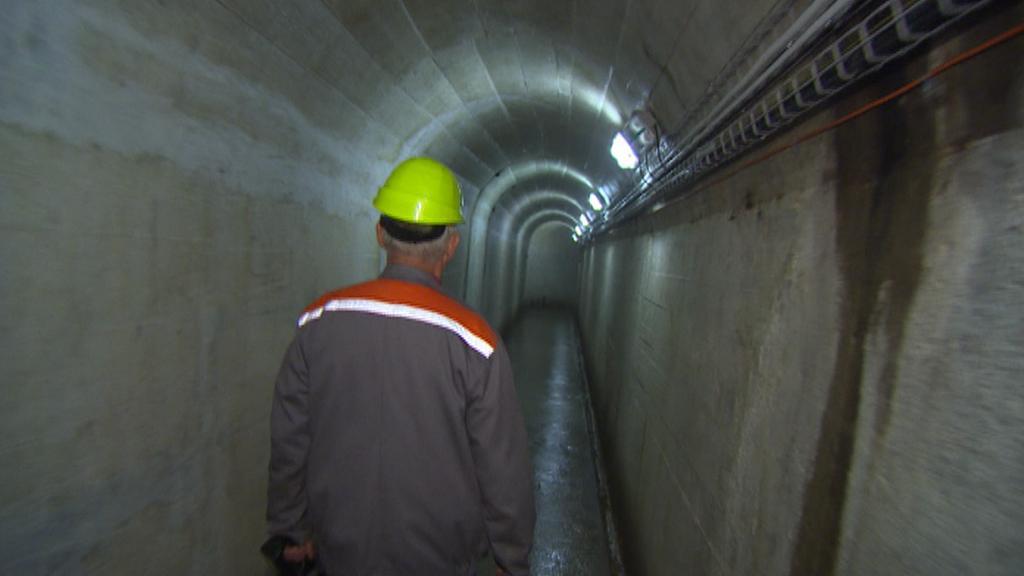 Podzemí lipenské vodní elektrárny
