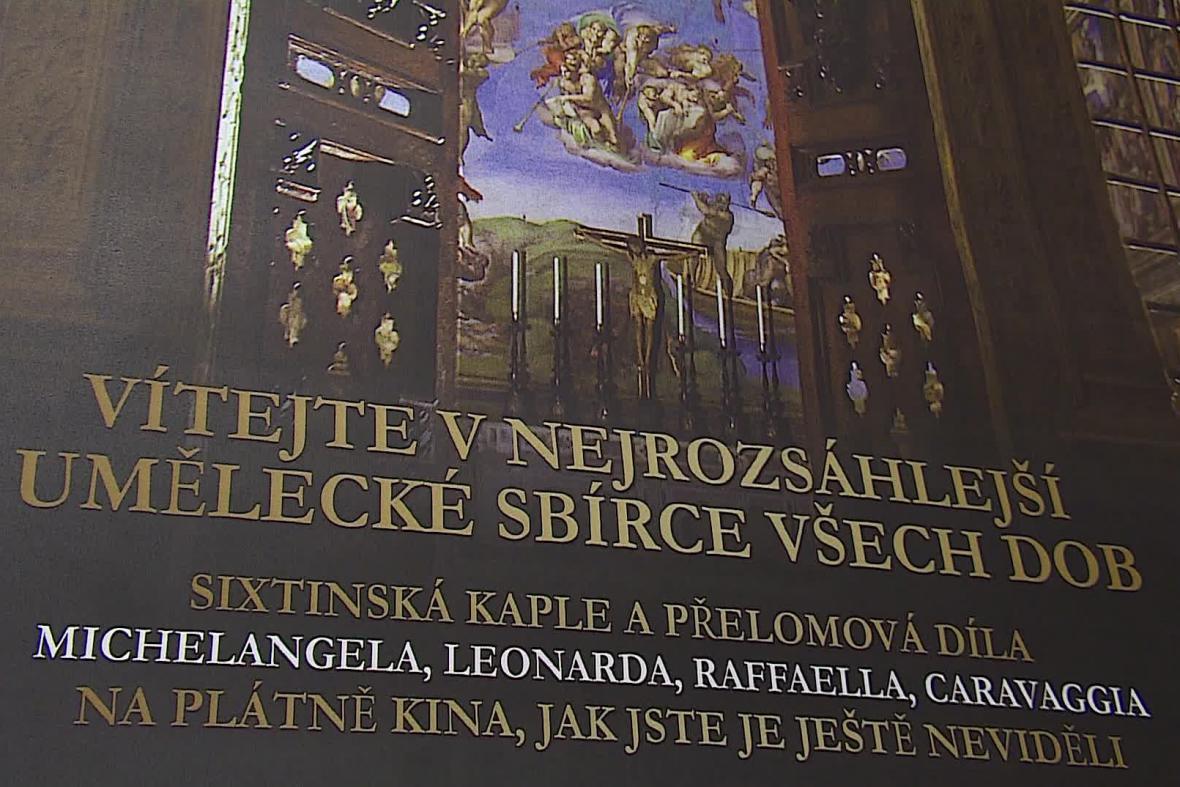 Prohlídka Vatikánských muzeí na filmovém plátně