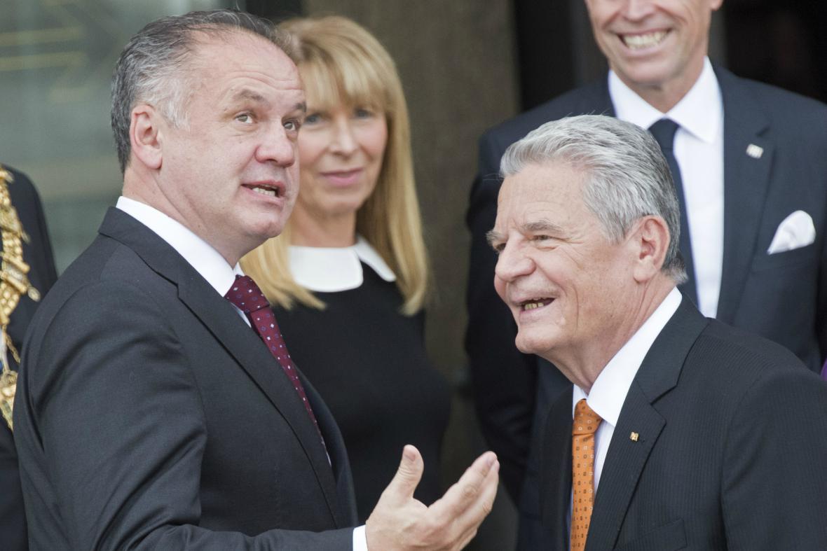 Setkání prezidentů v Lipsku se účastní i Andrej Kiska