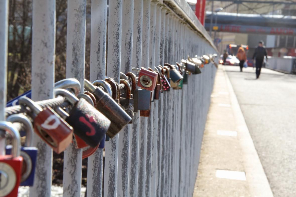 Most lásky v Sokolově