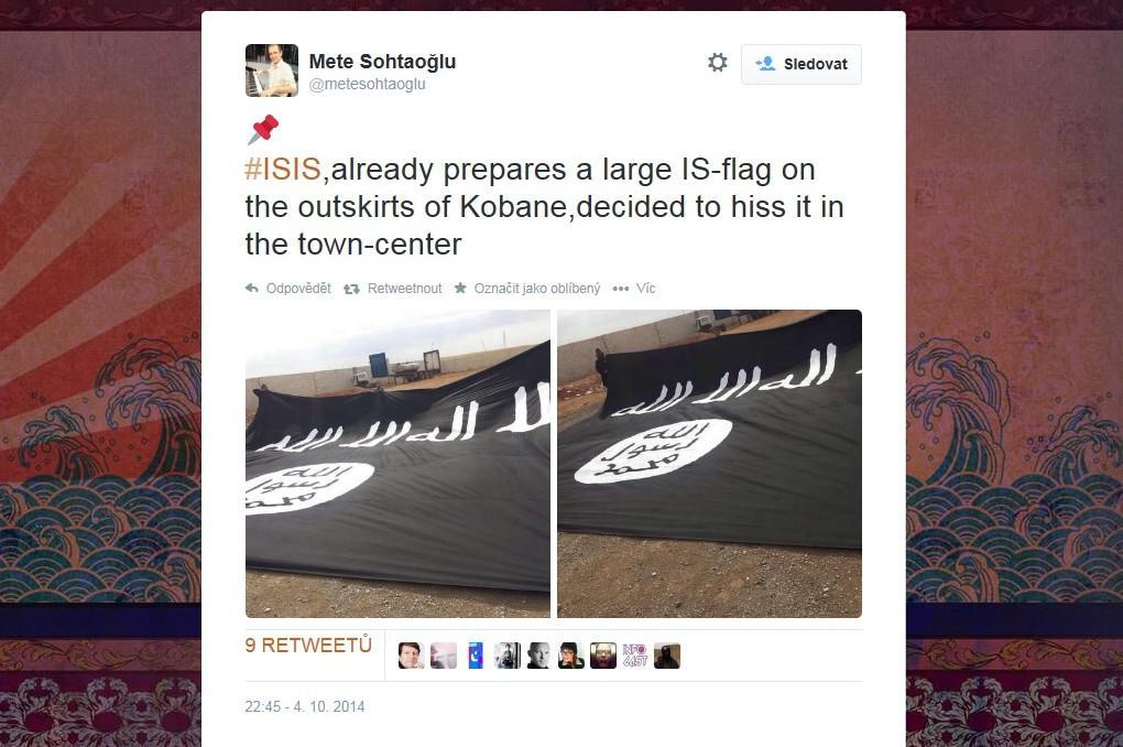 Černá vlajka islamistů