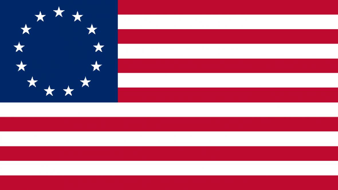 Vlajka Spojených států z roku 1776