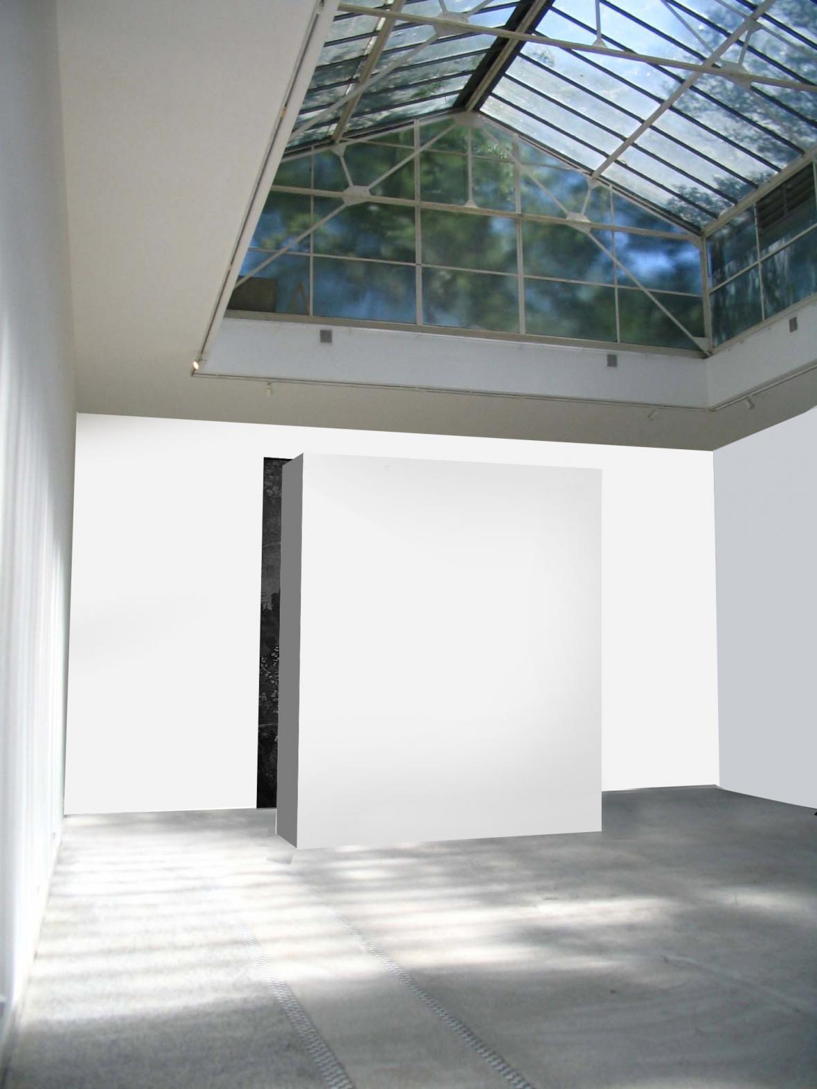 Vizualizace pavilonu na Bienále 2015