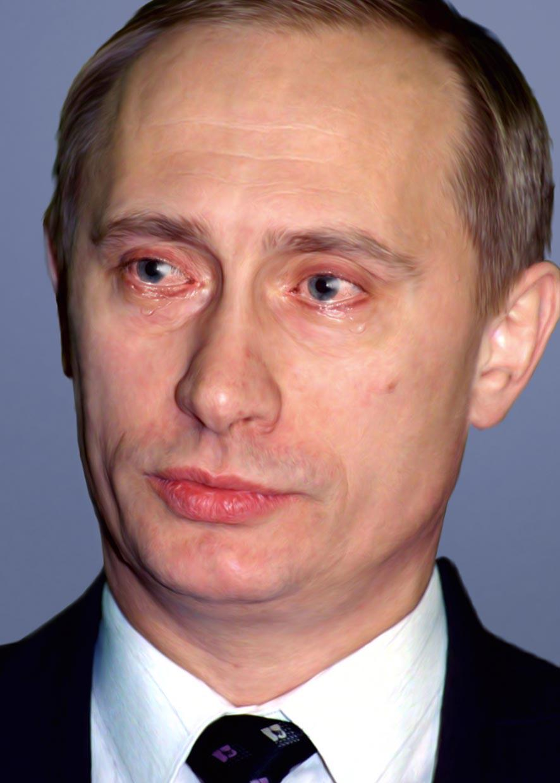 Jiří David / Bez soucitu, V. Putin