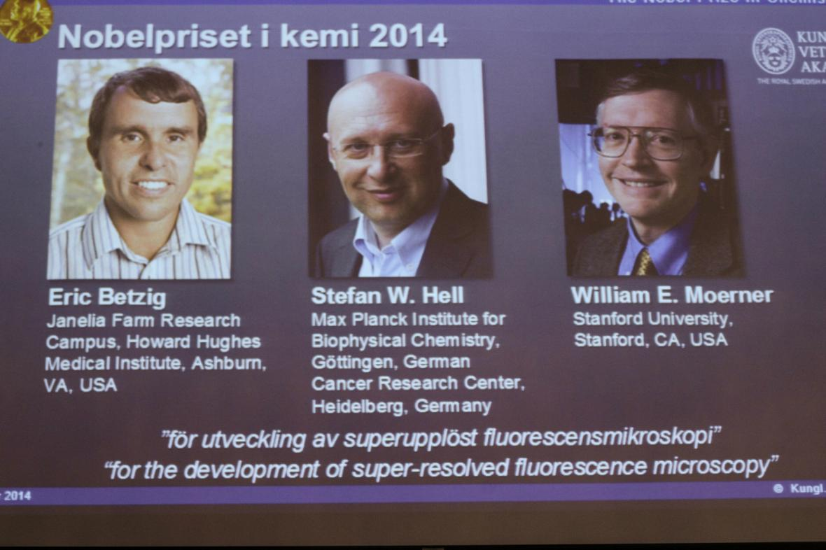 Prezentace Nobelovy ceny za chemii