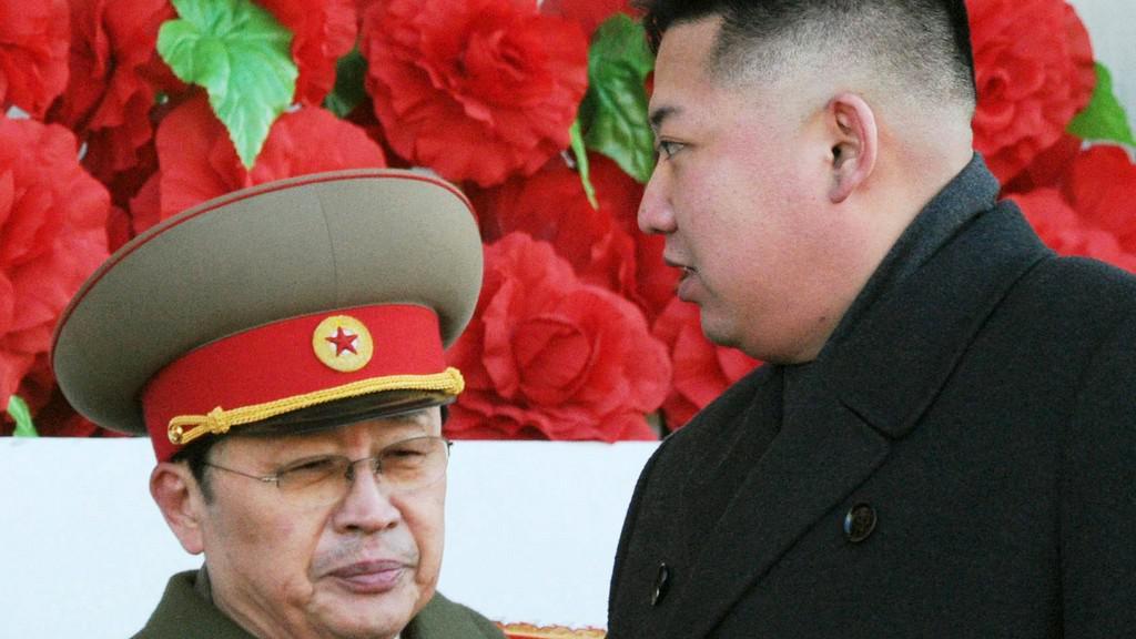 Kim Čong-un se svým strýcem