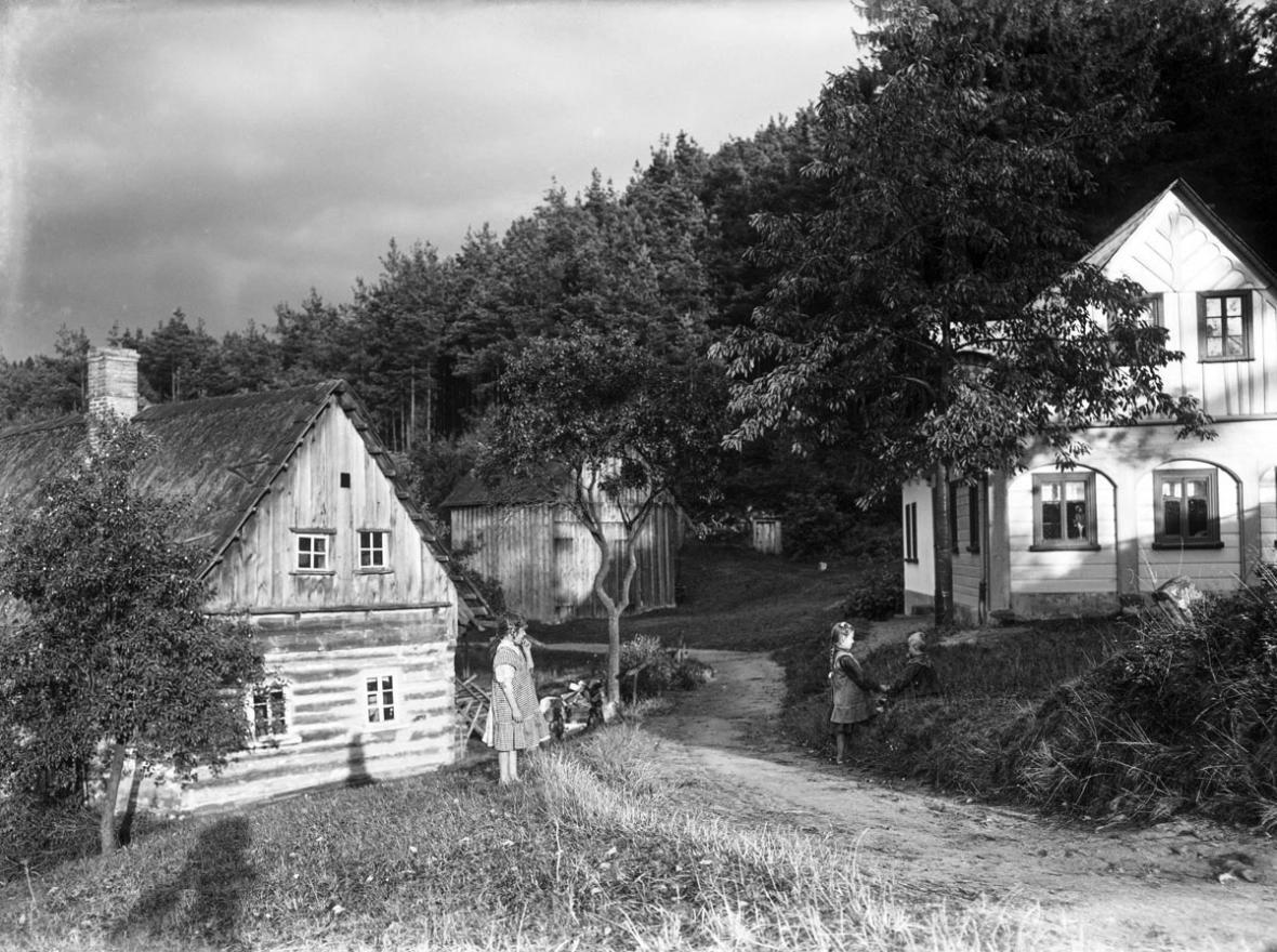 Fotografie severních Čech v letech 1910-1940 od Rudolfa Ginzela