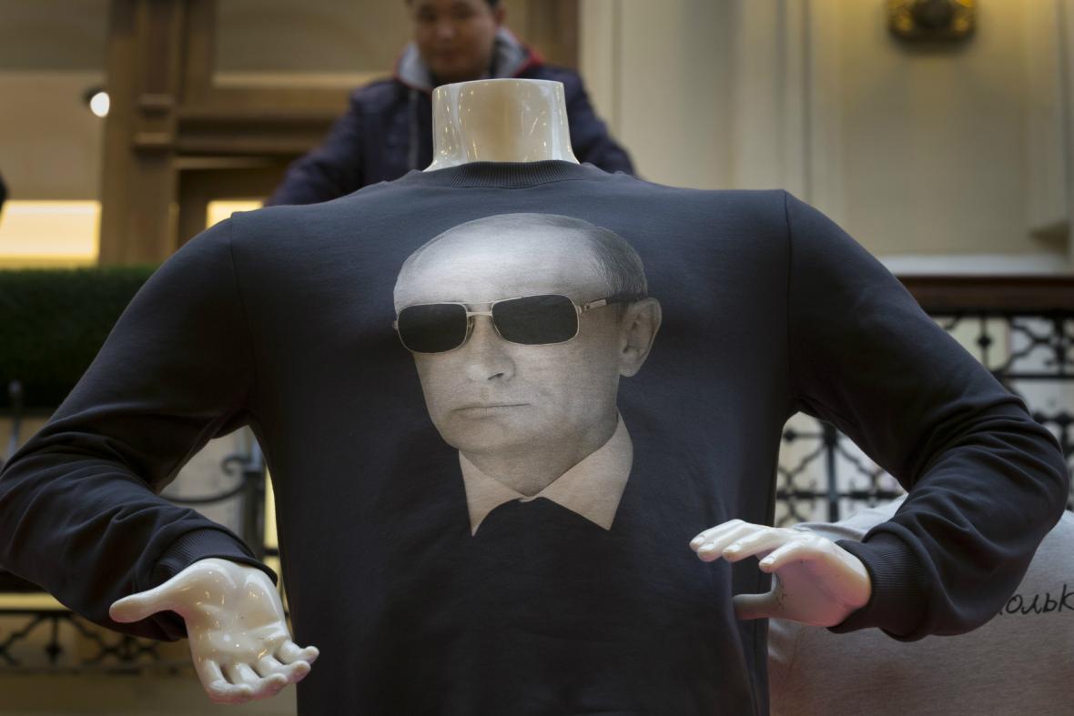 Zimní kolekce triček s Putinem