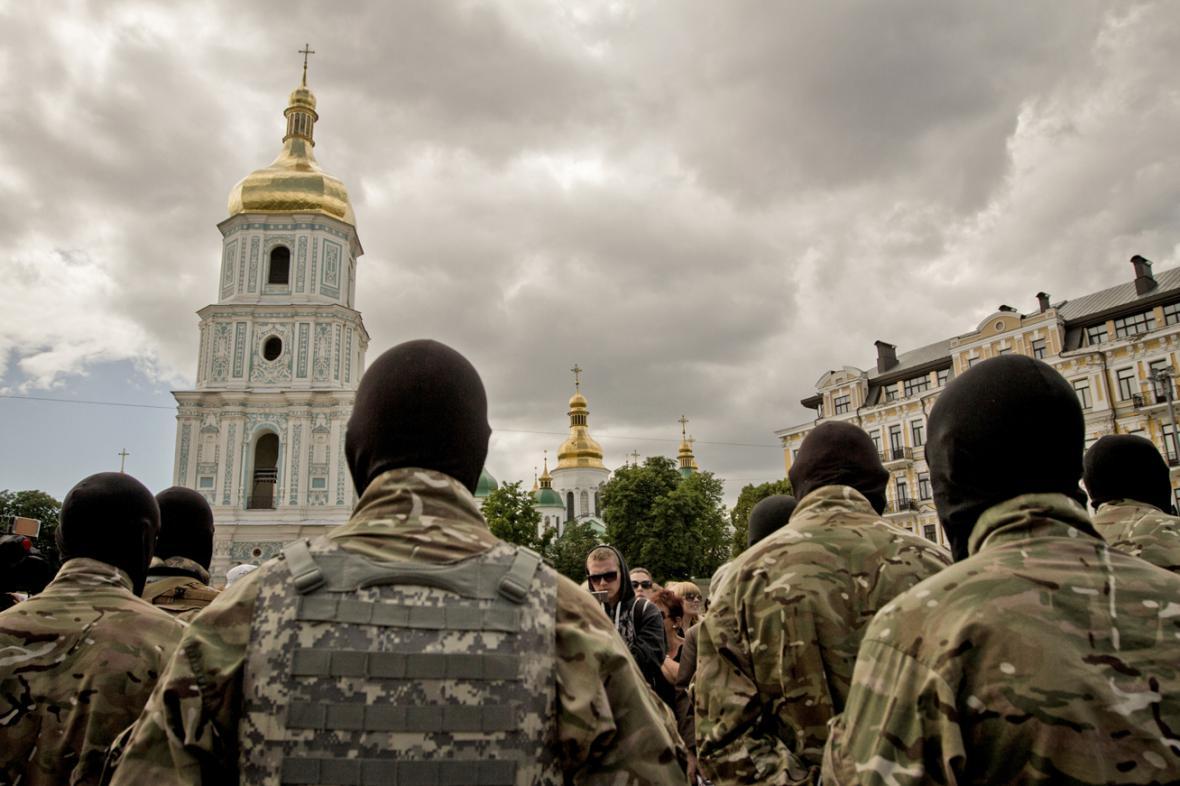 Ukrajinský dobrovolnický prapor Azov