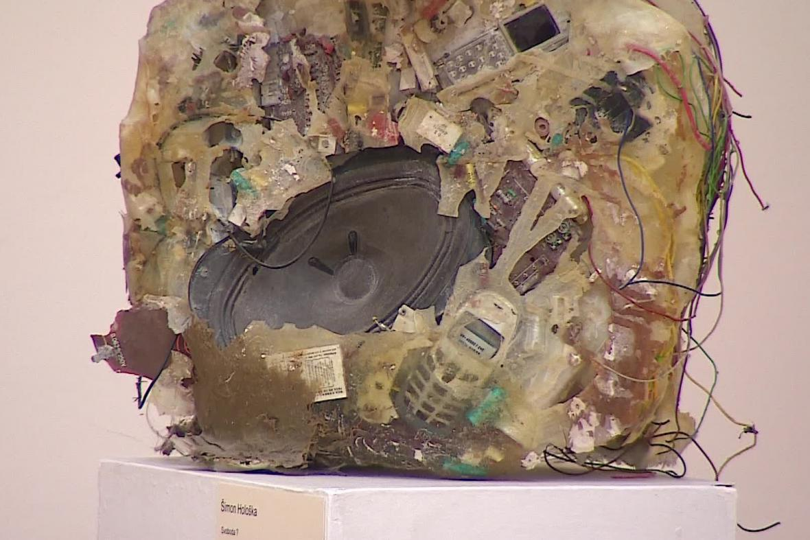 Výstava Mladé setkání v hodonínské galerii