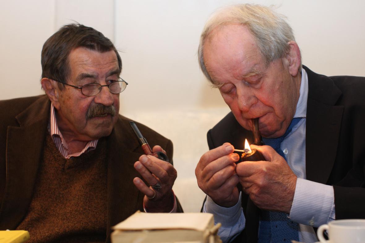 Günter Grass a Siegfried Lenz
